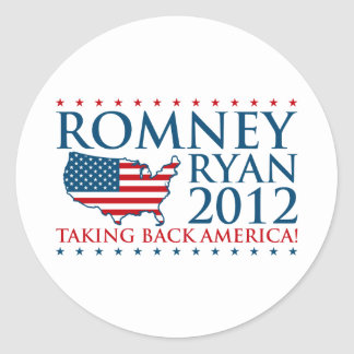 Romney Ryan 2012 Stickers