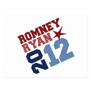 ROMNEY RYAN 2012 SWAY POST CARD