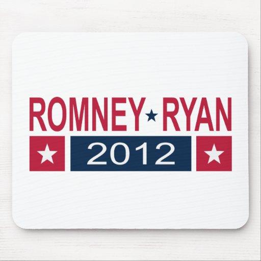 Romney Ryan 2012 Tapete De Ratones