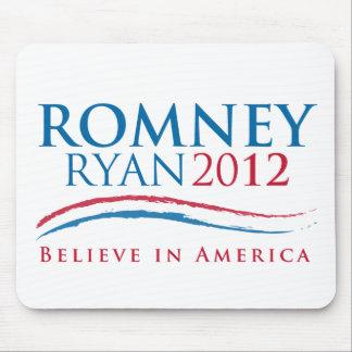 Romney-Ryan 2012 Tapetes De Ratón