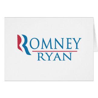 Romney Ryan 2012 Tarjeton