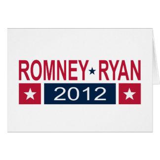 Romney Ryan 2012 Tarjeta De Felicitación