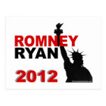 Romney Ryan 2012 Tarjeta Postal