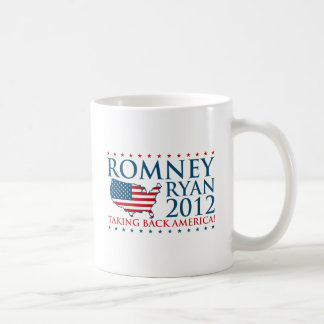 Romney Ryan 2012 Tazas De Café