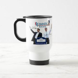 Romney-Ryan 2012 tazas machacantes de Demócratas