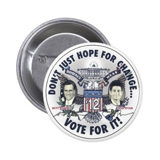 Romney Ryan 2012 Two Headed Eagle Jugate 2 Inch Round Button