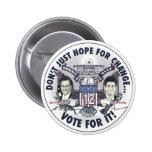 Romney Ryan 2012 Two Headed Eagle Jugate Button