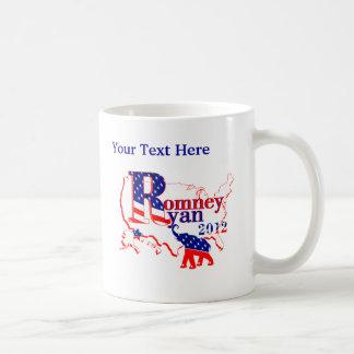 Romney Ryan 2012 - un equipo que gana para la Taza