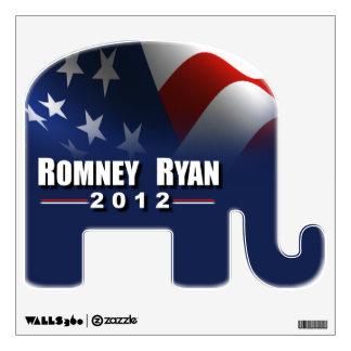 Romney Ryan 2012 Wall Sticker