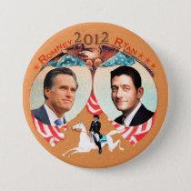 Romney Ryan 2012 with Ann on Refalca Pinback Button