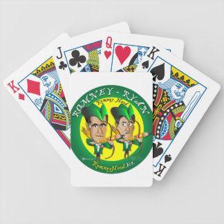 Romney Ryan 2 Archers Bicycle Playing Cards