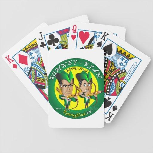 Romney Ryan 2 Archers Bicycle Poker Cards