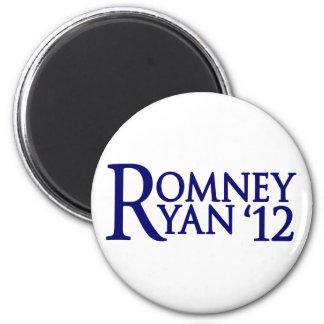 Romney Ryan 2 Inch Round Magnet