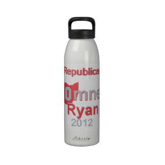 Romney Ryan Botellas De Beber