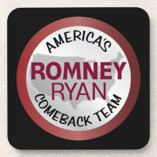 Romney Ryan America s Comeback Team Coaster