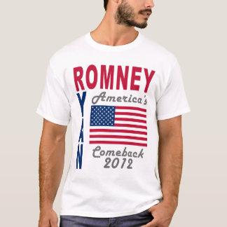 Romney Ryan America's Comeback T-Shirt