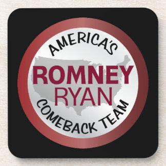 Romney Ryan America's Comeback Team Coaster