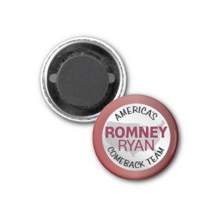 Romney Ryan America's Comeback Team Fridge Magnet