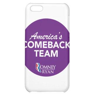 Romney Ryan America's Comeback Team Round (Purple) iPhone 5C Case