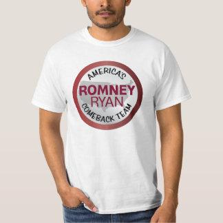 Romney Ryan America's Comeback Team T-Shirt