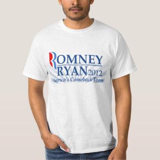 Romney Ryan, America's Comeback Team T-shirt