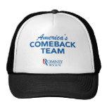 Romney Ryan America's Comeback Team Trucker Hat