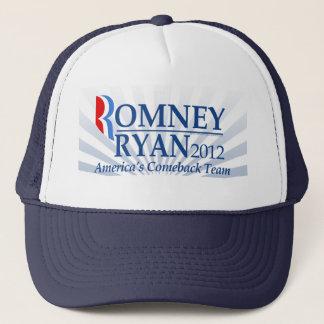 Romney Ryan, America's Comeback Team Trucker Hat