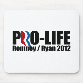 ROMNEY RYAN ARE PRO-LIFE png Mouse Pad
