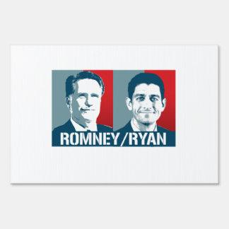 ROMNEY RYAN ART YARD SIGNS