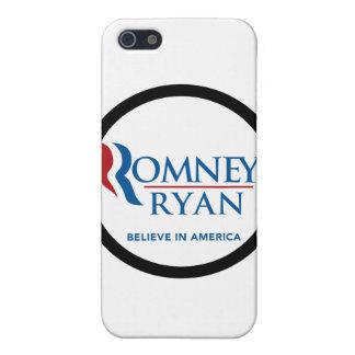 Romney Ryan Believe In America Black Border Cases For iPhone 5