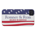 Romney & Ryan Believe in America Case iPhone 4 Case-Mate Cases