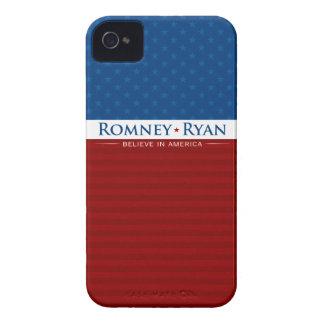 Romney & Ryan Believe in America Case iPhone 4 Case