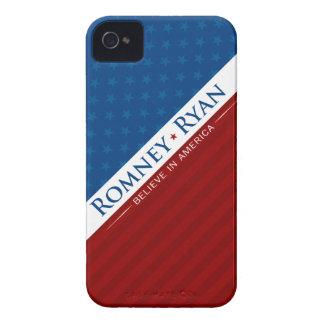 Romney & Ryan Believe in America Case iPhone 4 Cases
