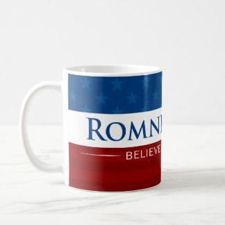 Romney & Ryan Believe in America Coffee Mugs