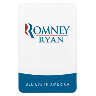 Romney Ryan Believe in America Flexi Magnet