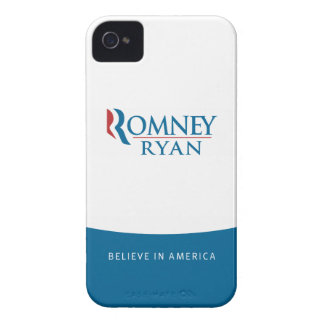 Romney Ryan Believe in America iPhone 4 Case