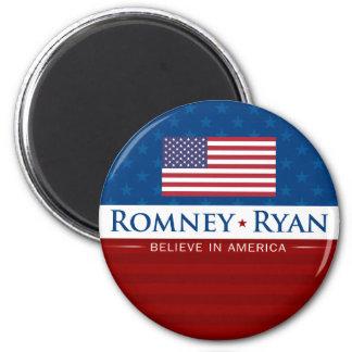 Romney & Ryan Believe in America Magnet