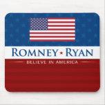 Romney & Ryan Believe in America Mousepad