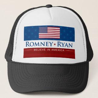 Romney & Ryan Believe in America Trucker Hat