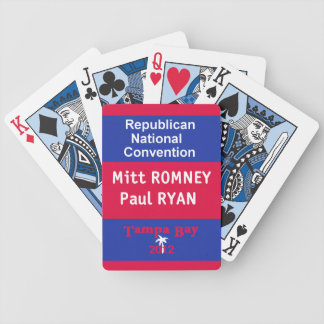 Romney Ryan Bicycle Playing Cards