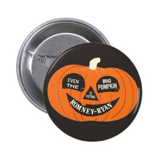 Romney - Ryan Big Pumpkin Button