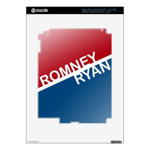 ROMNEY RYAN BLOCK.png RETRO Pegatina Skin Para iPad 3