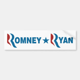 Romney - Ryan Bumper Sticker