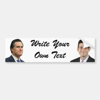 Romney-Ryan Bumper Sticker