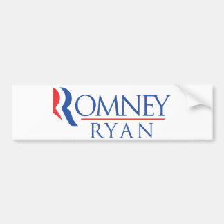 Romney Ryan  bumper sticker