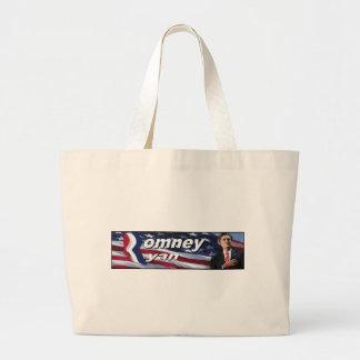 Romney Ryan Bumper Sticker Tote Bag
