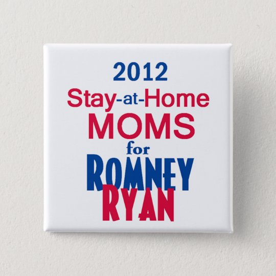 Romney Ryan Button