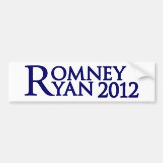 Romney Ryan Etiqueta De Parachoque