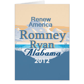 Romney Ryan Card