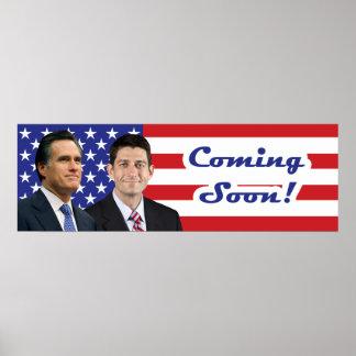 Romney-Ryan - Coming Soon! Poster